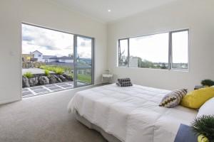 Bedroom vista views